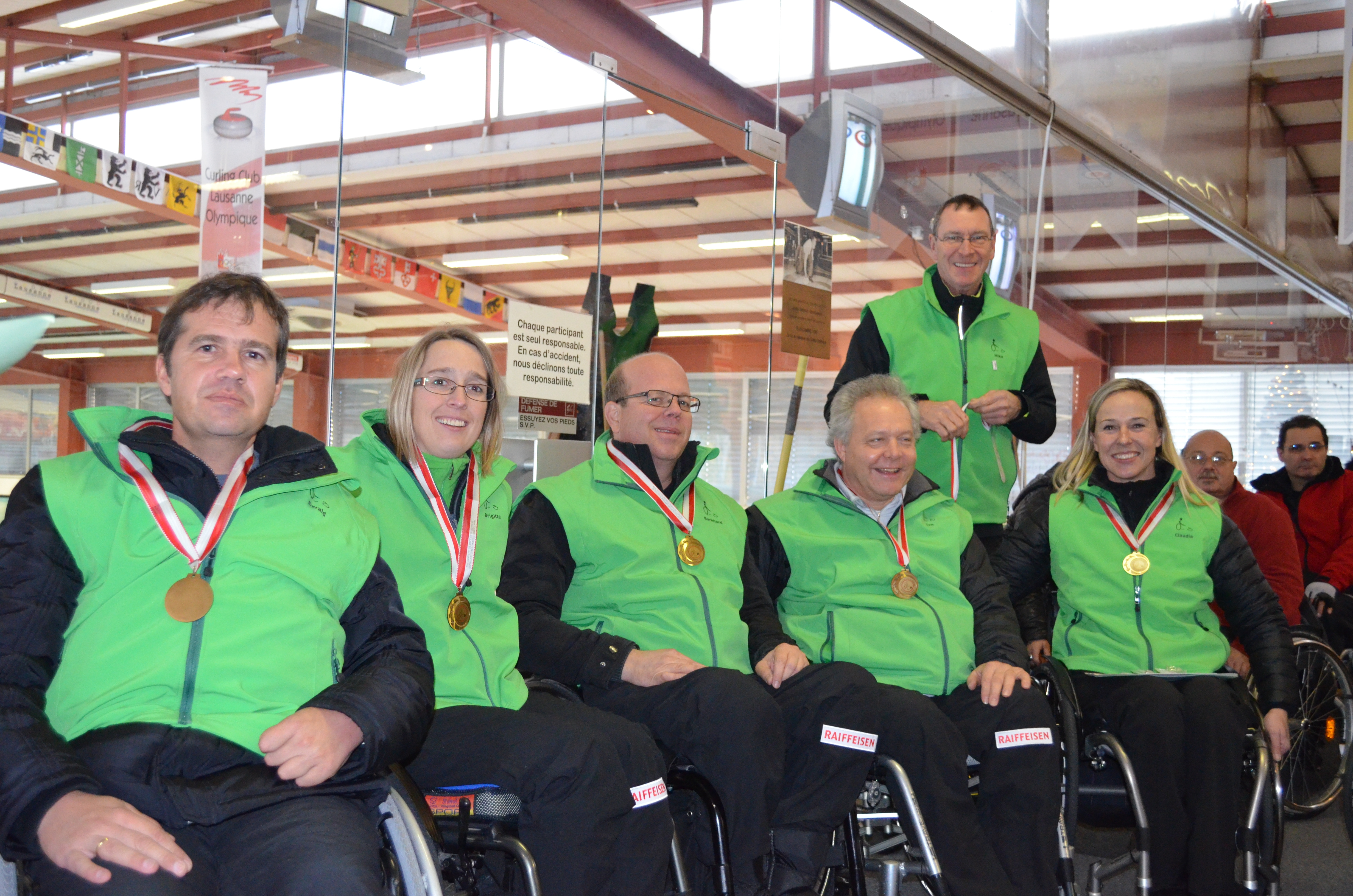 Curling Teamfoto